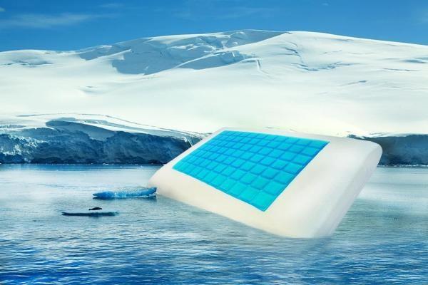 N/A Coolmax Cool Cooling Speicherschwammkissen (41x58x13 cm) 1St