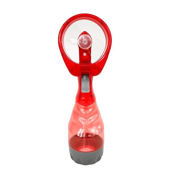 N/A Coolmax Cool Manueller Wasserdampfventilator - rot 1St