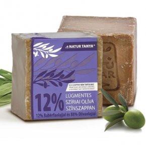N/A Anmelden Syrische Olivenfarbseife - 12% Lorbeeröl und 88% Olivenöl. 2000 Jahre altes Rezept, 0,001% Alkali!