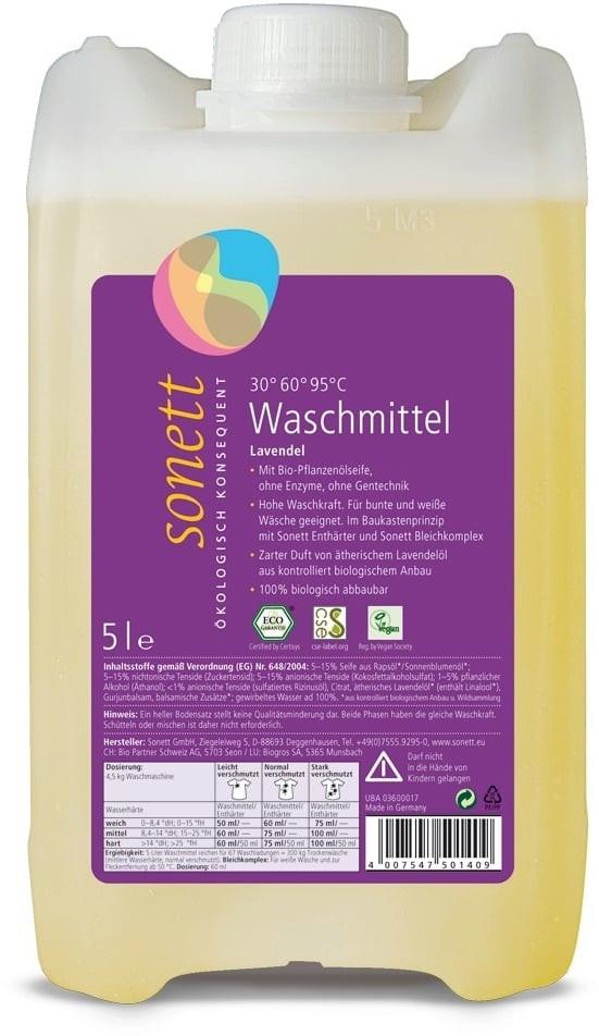 N/A Sonett Waschmittel Flüssig-Lavendel 5l