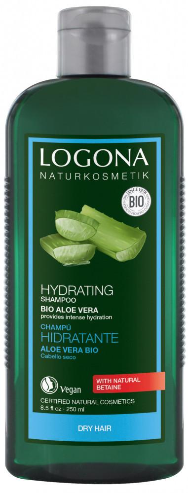 N/A Logona Feuchtigkeitsspendendes Shampoo mit Bio-Aloe Vera 250 ml