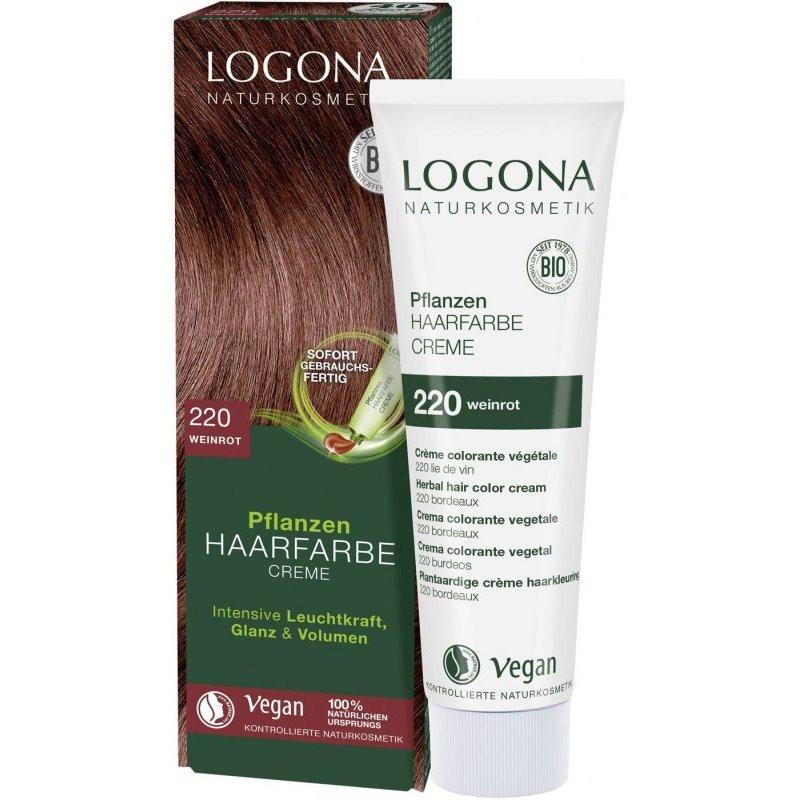 N/A Logona Bio-Gemüsecreme Haarfärbemittel Burgunderrot 150 ml