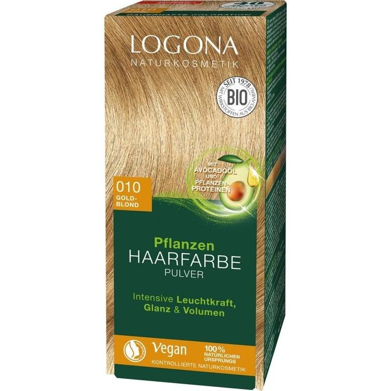 N/A Logona Bio-Pflanzenhaarfärbemittel Pulver goldblond 100 g