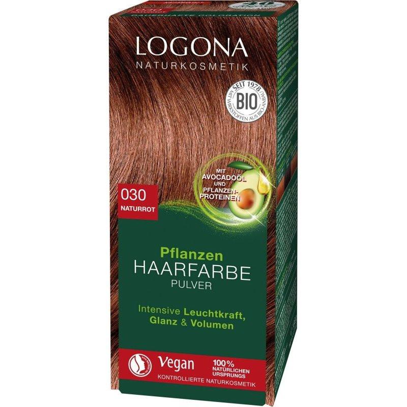 N/A Logona Gemüse Haarfärbemittel Pulver - Natural Red 100g