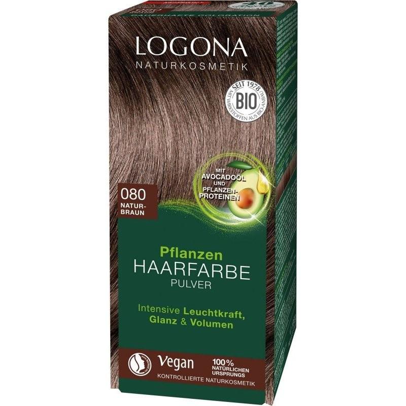 N/A Logona Bio-Pflanzenhaarfärbepulver schokoladenbraun 100 g