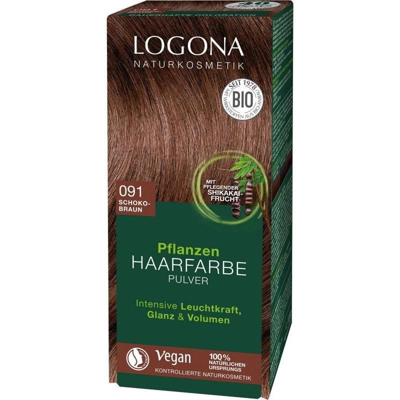 N/A Logona Bio-Pflanzenhaarfärbemittel Espresso 100 g