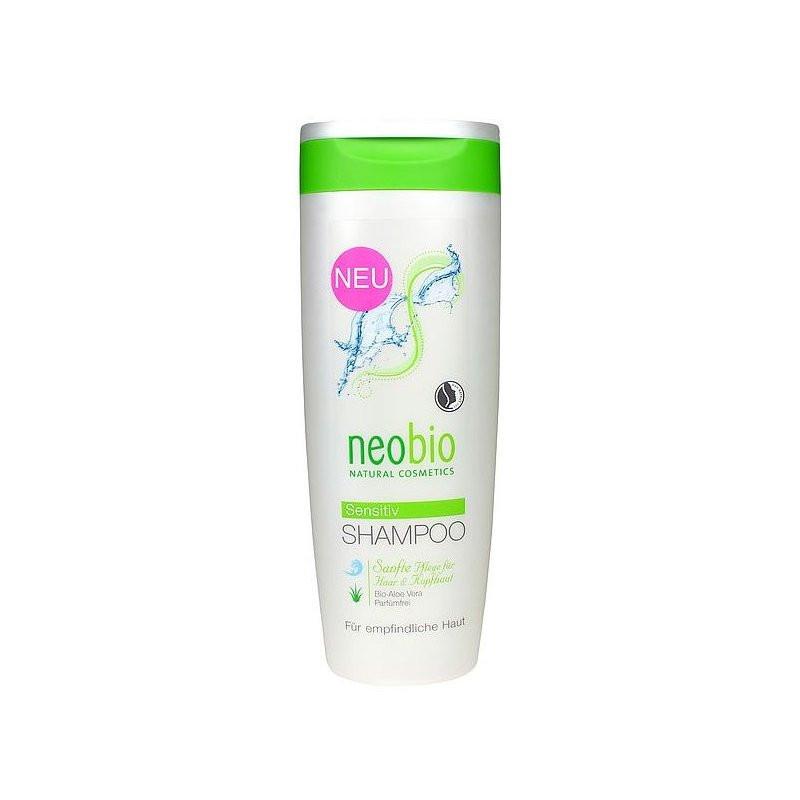 N/A Neobio Shampoo für geruchlose empfindliche Kopfhaut mit Bio Aloe Vera 250 ml