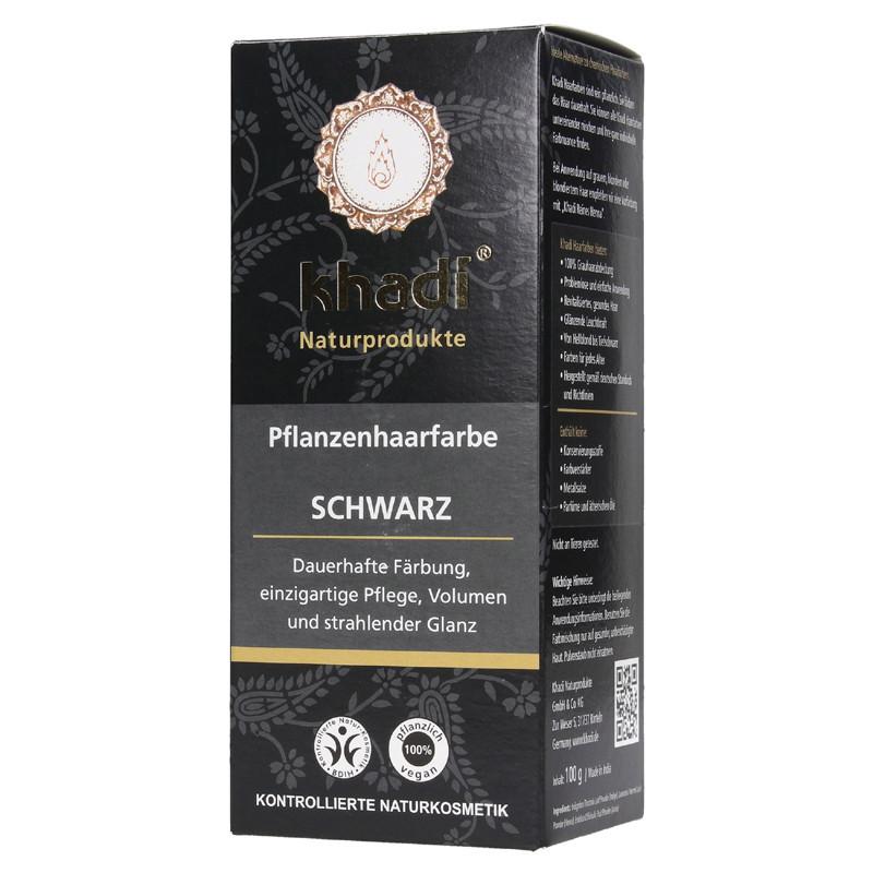 N/A Khadi Bio-Haarfärbemittelpulver schwarz 100 g