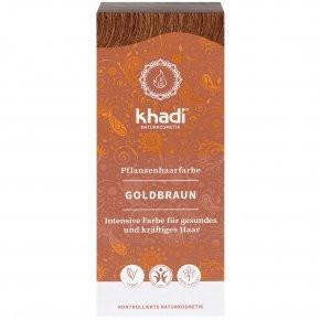 N/A Khadi Bio-Haarfärbemittelpulver goldbraun 100 g