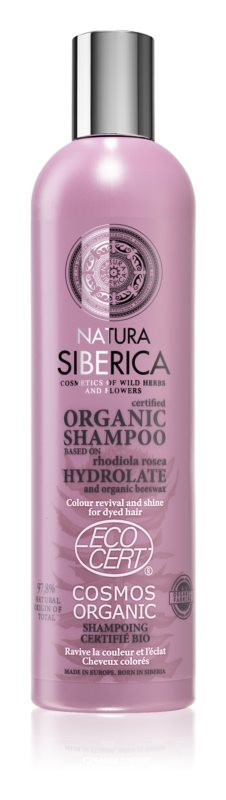 N/A Natura siberica Blütenwasser aufhellendes Bio-Shampoo für gefärbtes Haar 400 ml