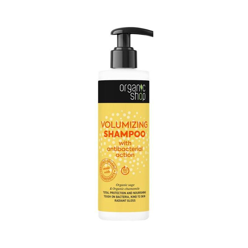 N/A Bio-Shop bereichern Shampoo mit Bio-Salbei und organische Kamille 280ml