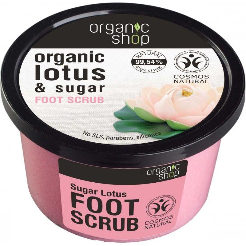 N/A Bio Shop Bio süß Lotusblume Fußpeeling 250 ml