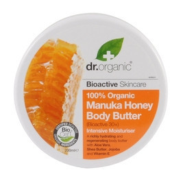 N/A Dr. Organic Body Butter Bio Manuka mit Honig 200ml