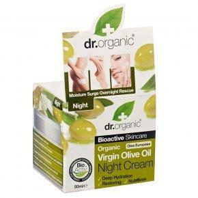 N/A Dr.organic Bio Oliven Nachtcreme 50 ml