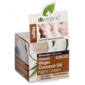 N/A Dr.organic Bio-Kokosöl Nachtcreme 50 ml
