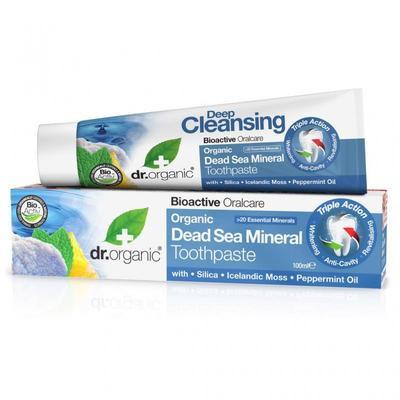 N/A Bio-Zahnpasta mit Mineralien aus dem Toten Meer 100 ml