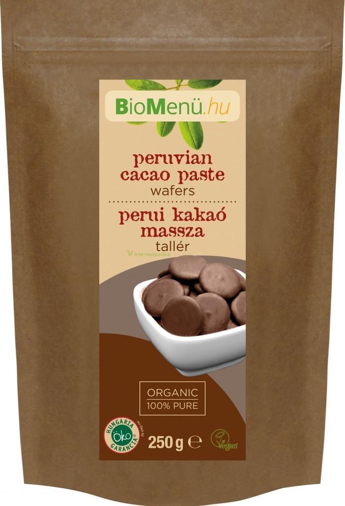 N/A BioMenu BIO COCOA MASSER peruanisch 250 g