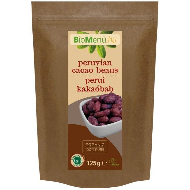 N/A BioMenu BIO COCOA BEANS peruanisch 125 g