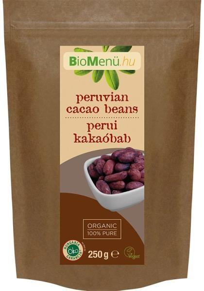 N/A BioMenu BIO COCOA BEANS peruanisch 250 g