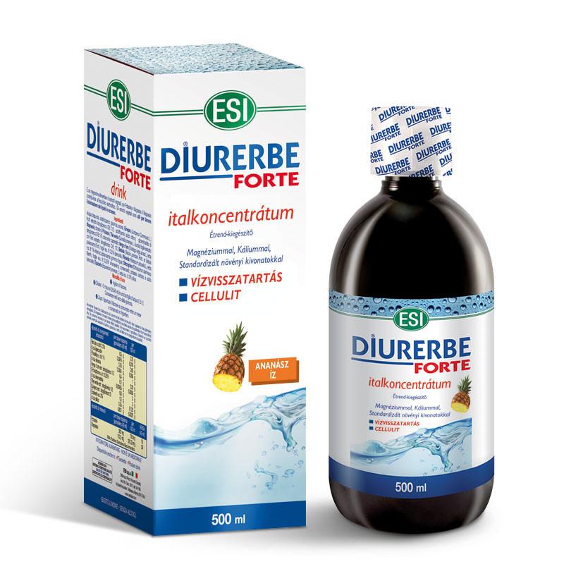 N/A ESI(R) Diurerbe(R) Forte Getränkekonzentrat, Ananasgeschmack - Gegen Wassereinlagerungen und Cellulite. 500 ml
