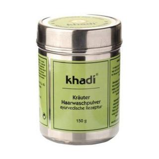 N/A Khadi Bio-Haarwaschpulver Kräuter 150 g