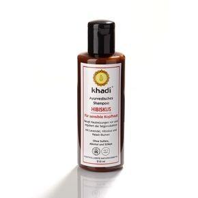 N/A Khadi Bio-Shampoo für hibiskusempfindliche Kopfhaut 210 ml
