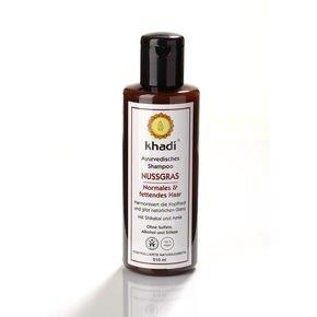 N/A Khadi Bio Shampoo mit Mandelgras für normales und fettiges Haar 210 ml
